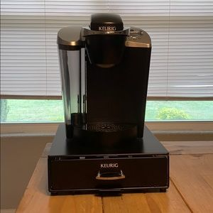 Keurig with Coffee Pod Drawer!